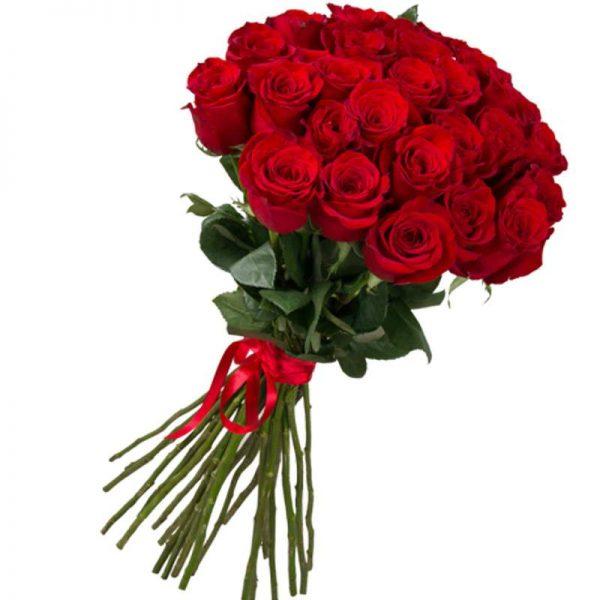 25 импортных роз